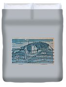1962 Homestead Act Stamp Duvet Cover
