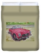 1962 Mercedes Benz 190sl Duvet Cover