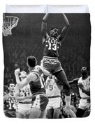 1962 Nba All-star Game Duvet Cover