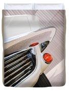 1963 Chevrolet Corvette Split Window Grille -221c Duvet Cover
