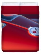 1963 Chevrolet Corvette Split Window Duvet Cover