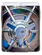 1963 Chevrolet Corvette Split Window Wheel -111c Duvet Cover