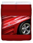 1963 Chevrolet Corvette Sting Ray Z06 Duvet Cover