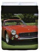 1963 Ferrari 250 Gt Lusso Duvet Cover