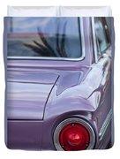 1963 Ford Falcon Tail Light Duvet Cover