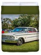 1963 Ford Galaxie 500xl Hardtop Duvet Cover