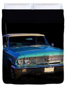 1963 Ford Galaxy Duvet Cover