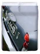 1964 Aston Martin Db5 Coupe' Taillight Duvet Cover