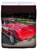 1964 Chevy Corvette Coupe  Duvet Cover