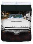 1964 Ford Thunderbird Painted Duvet Cover