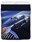 1964 Jaguar Mk2 Saloon Duvet Cover