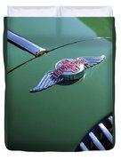 1964 Morgan 44 Hood Ornament Duvet Cover