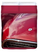 1964 Shelby 289 Cobra Grille -0840c Duvet Cover