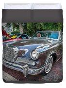 1964 Studebaker Golden Hawk Gt Painted Duvet Cover