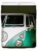 1964 Volkswagen Vw Samba 21 Window Bus Duvet Cover
