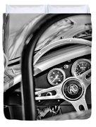 1965 Ac Cobra Steering Wheel Duvet Cover
