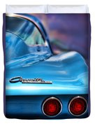 1965 Chevrolet Corvette Stingray Duvet Cover