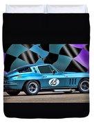 1965 Corvette Duvet Cover