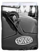 1965 Divco Milk Truck Hood Ornament 3 Duvet Cover