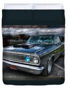 1965 Dodge Coronet Duvet Cover