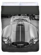 1965 Ford Ac Cobra Replica Painted Bw Duvet Cover