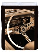 1965 Ford Mustang  Duvet Cover