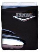 1965 Ford Mustang Gt 289 Emblem -0309c Duvet Cover