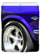 1965 Ford Mustang Gt350 Muscle Car Duvet Cover