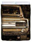 1965 Olds 442 Duvet Cover
