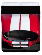 1965 Shelby Cobra Front Grille - Emblem Duvet Cover