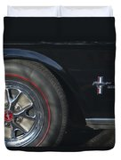 1965 Shelby Prototype Ford Mustang Wheel 2 Duvet Cover