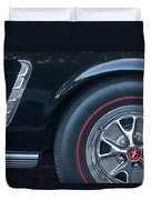 1965 Shelby Prototype Ford Mustang Wheel 3 Duvet Cover