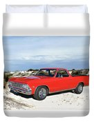 1966 Chevrolet El Camino 327 Duvet Cover