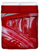 1966 Ford Mustang Gt Side Scoops -032c Duvet Cover