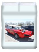 1966 Gto Monkeemobile Duvet Cover