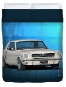 1966 Mustang Duvet Cover