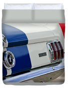1966 Shelby Gt 350 Taillight Duvet Cover