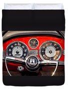 1966 Volkswagen Vw Karmann Ghia Steering Wheel Duvet Cover
