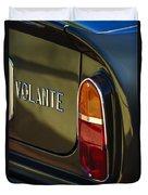 1967 Aston Martin Db6 Volante Tail Light Duvet Cover