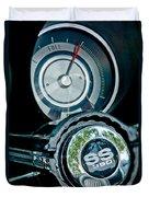 1967 Chevrolet Camaro  Ss Steering Wheel Emblem Emblem Duvet Cover