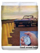1967 Chevrolet Corvette Duvet Cover
