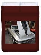1967 Chevy Corvette Duvet Cover