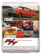 1967 Dodge Coronet R/t Duvet Cover