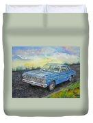 1967 Ford Falcon Futura Duvet Cover