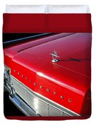 1967 Lincoln Continental Hood Ornament - Emblem -646c Duvet Cover