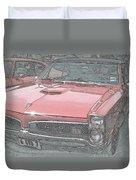1967 Pontiac Gto Duvet Cover