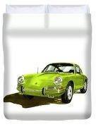 1967 Porsche 911  Duvet Cover