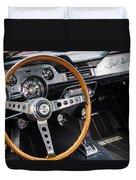 1967 Shelby Gt 350 Signed Dash Duvet Cover