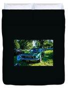 1968 Bullitt Mustang Duvet Cover