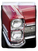 1968 Cadillac Deville You Looking At Me Duvet Cover
